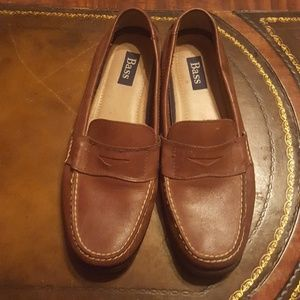 Bass Genuine Leather Monroe Penny Loafer